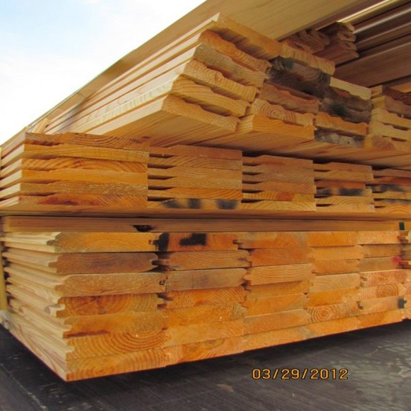 Yellow Pine Siding Cline Lumber